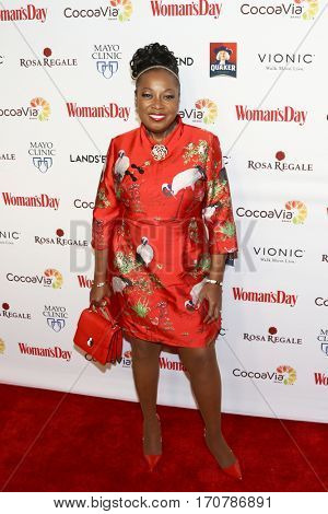 TV personality Star Jones attends the 14th Annual Woman's Day Red Dress Awards at Jazz at Lincoln Center on February 7, 2017 in New York City.