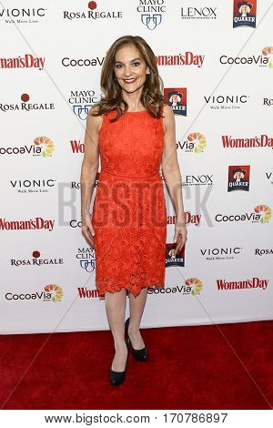 Nutririon expert Joy Bauer attends the 14th Annual Woman's Day Red Dress Awards at Jazz at Lincoln Center on February 7, 2017 in New York City.