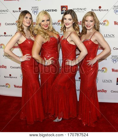 Bella Electric Strings attend the 14th Annual Woman's Day Red Dress Awards at Jazz at Lincoln Center on February 7, 2017 in New York City.