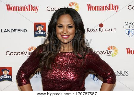 Former boxer Laila Ali attends the 14th Annual Woman's Day Red Dress Awards at Jazz at Lincoln Center on February 7, 2017 in New York City.