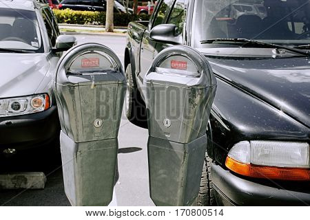 parking meters expired forbidden meter maid crime