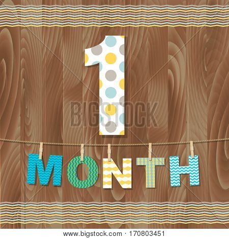 Card 1 Month