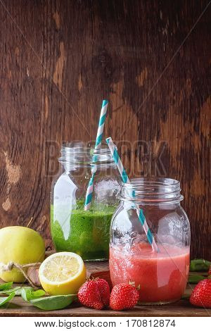 Green And Red Smoothie
