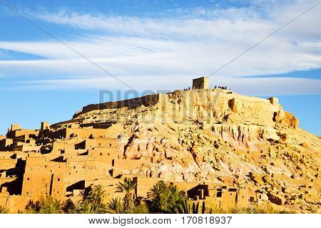 Africa In Morocco The   Historical Village
