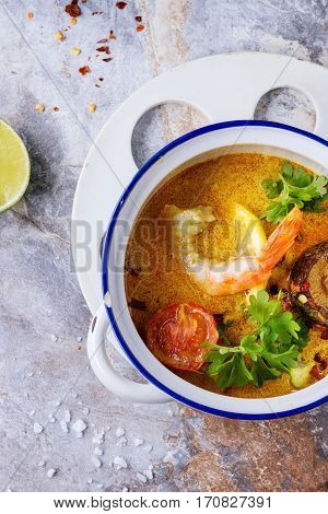 Thai Soup Tom Yam