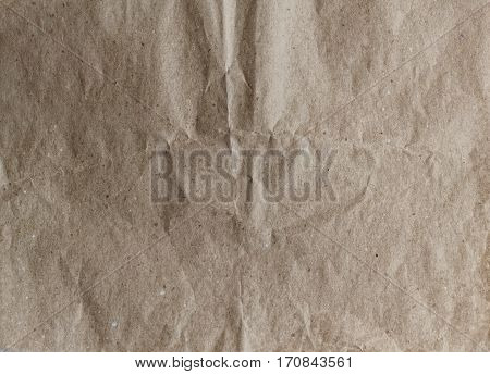crumpled wrapping paper for handmade. Textured background