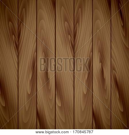 Rustic wood planks vintage background. Wood texture, vector Eps10 illustration.