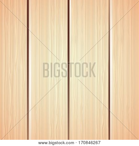Beautiful wood wall background, wood texture background pattern - vector Eps10 illustration.