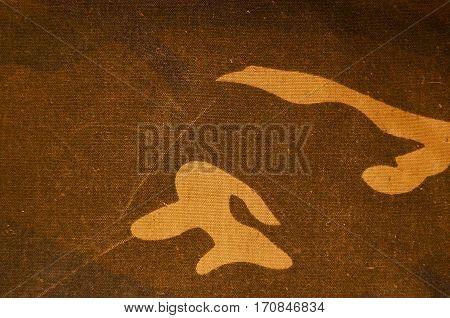 Textile Camouflage Cloth Texture