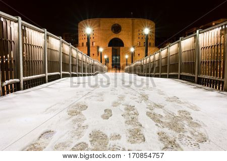 The wharf of Francavilla al Mare (CH) Abruzzo Italy