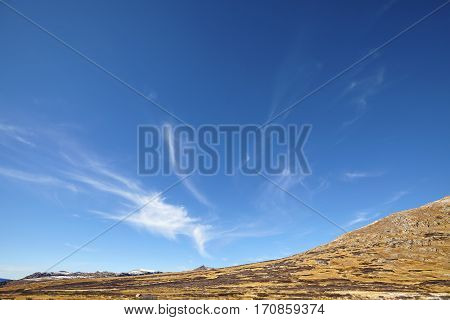 Vast Cloudscape Over Independence Pass Mountains, Colorado, Usa