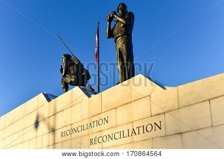 Reconciliation: The Peacekeeping Monument - Ottawa, Canada