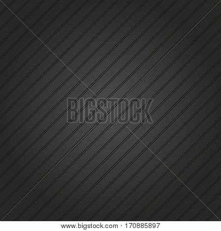 Abstract dark wallpaper with diagonal strips. Seamless colored background