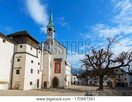 St. George Chapel at Hohensalzburg Fortress. Salzburg, Austria.