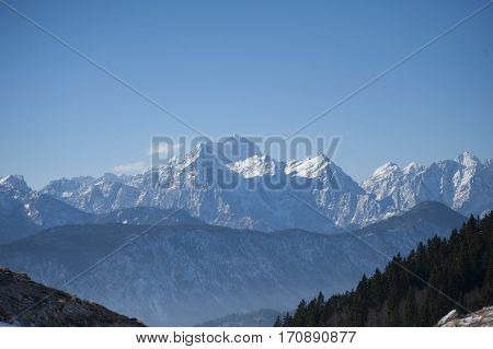 Triglav is the highest mountain in Slovenia and the highest peak of the Julian Alps.