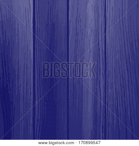 Blue wood planks texture. Old painted wood wall. Wooden planks texture for your design. Shabby chic background. Vector illustration