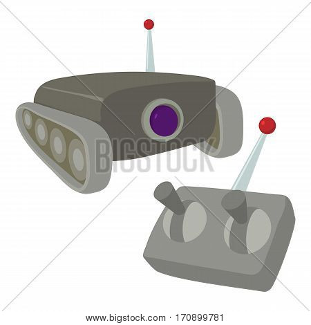 Moving camera icon. Cartoon illustration of moving camera vector icon for web