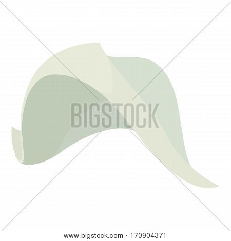 Fisherman hat icon. Cartoon illustration of fisherman hat vector icon for web