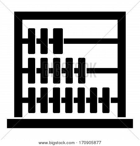 Children abacus icon. Simple illustration of children abacus vector icon for web