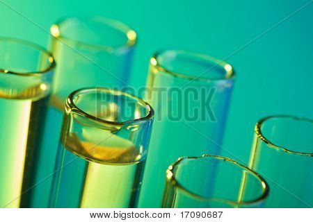 chemical test tubes