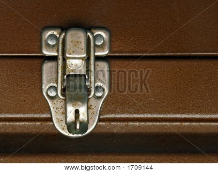 Toolbox Latch Close Up