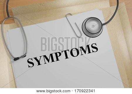Symptoms - Medical Concept