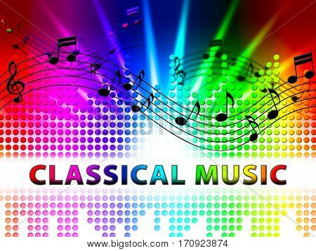 Classical Music Shows Symphonic Soundtracks And Audio
