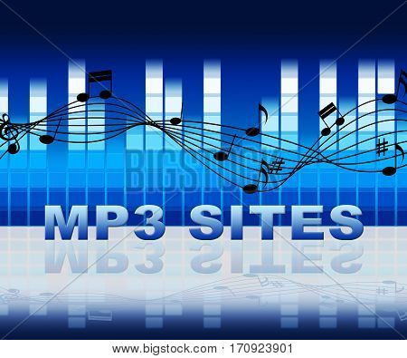Mp3 Sites Shows Music Downloads File Online