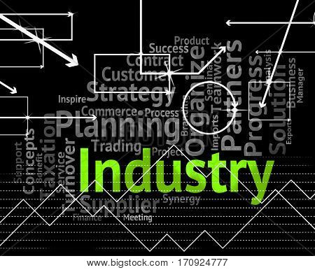 Industry Word Meaning Industrialized Wordclouds And Industrial