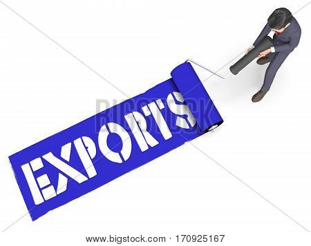 Exports Paint Shows Trading Exporting 3D Rendering