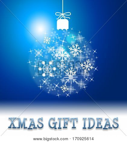 Xmas Gift Ideas Shows  Christmas Present Suggestions