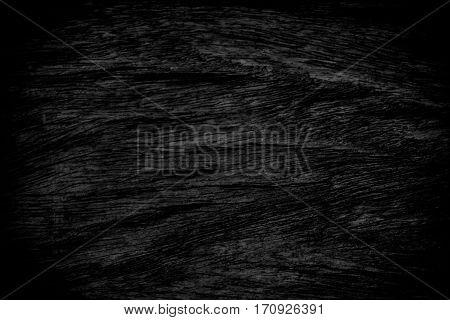 Black Grunge Texture Background. Wood Grunge Texture On Distress Wall In The Dark. Dark Grunge Textu