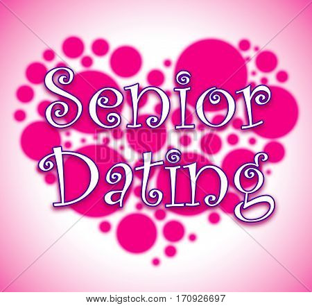 Senior Dating Showing Retired Sweethearts And Dates