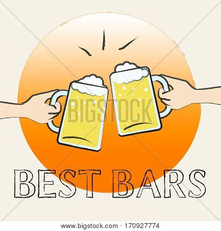Best Bars Shows Top Pubs Or Taverns