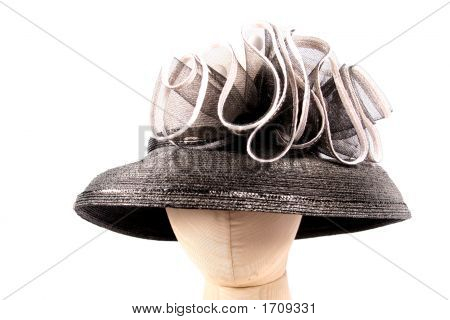 One Hat As A Part Of Over Two Hundred (200) Hats For Parts On An Isolated White Background