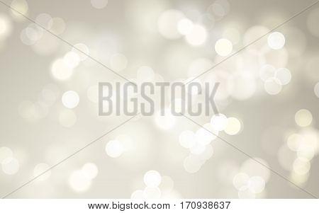 White Bokeh Background