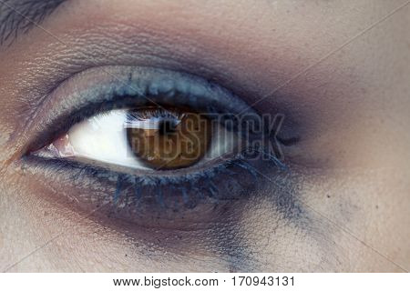 The Eye With Bleeding Mascara