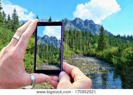 Shooting High Tatra Mountains