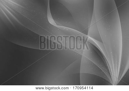 Smooth Abstract  grey wavy Background. You can use it you can use it for print and web background