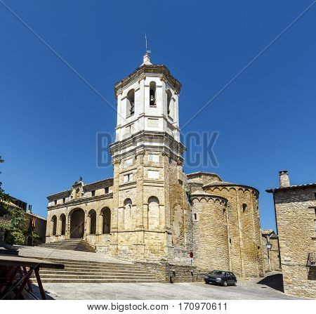 Cathedral Roda de Isabena is a town in the municipality of Isabena in the region of Ribagorza province of Huesca. Spain.