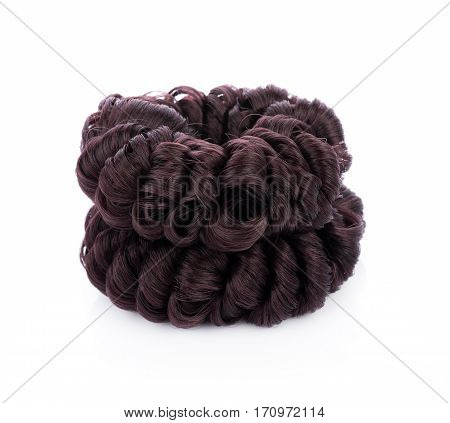 Closeup Hair band isolated on white background