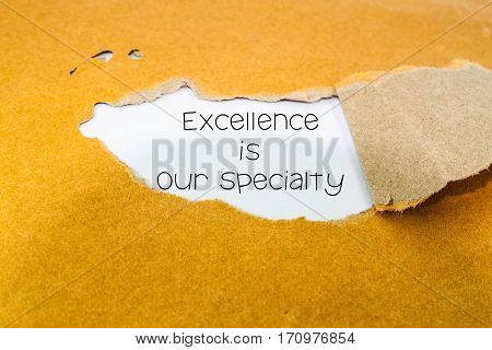 Excellence is our specialty on notepaper, business