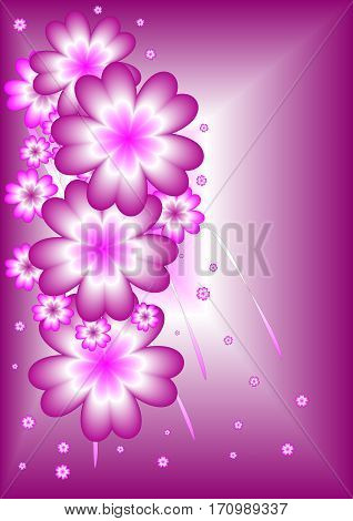 Valentine`s day purple background appropriate to a declaration of love during the day of lovers