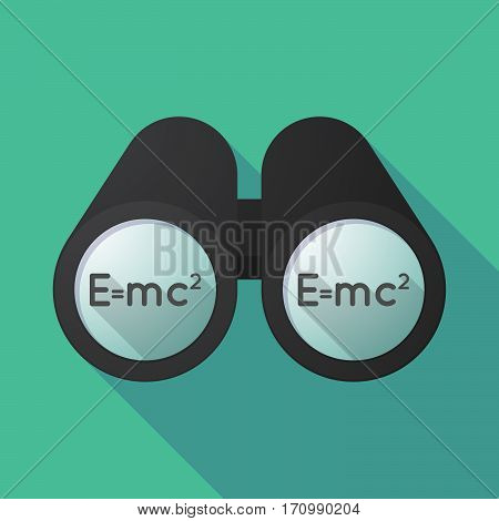 Long Shadow Binoculars With The Theory Of Relativity Formula