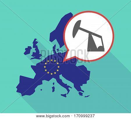 Long Shadow Eu Map With A Horsehead Pump