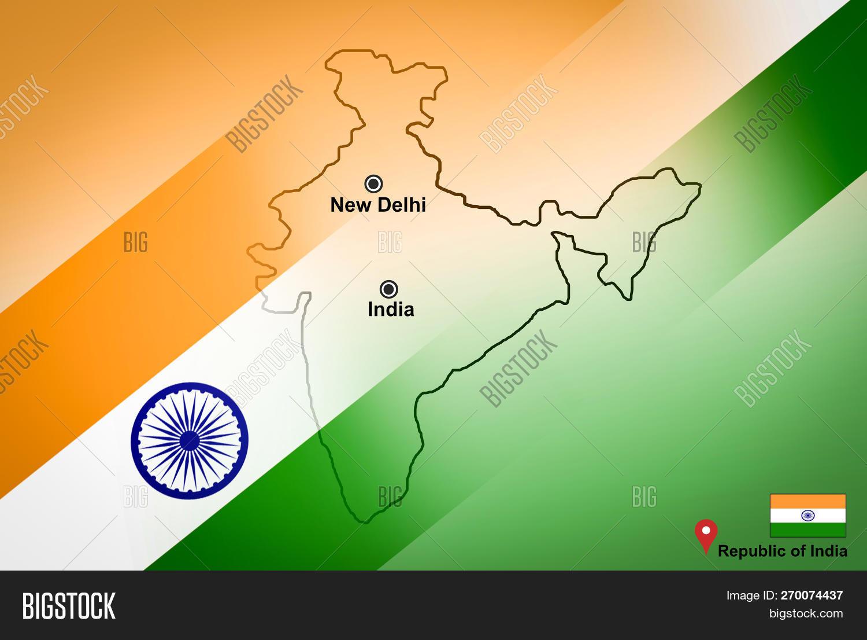 India Map New Delhi Image Photo Free Trial Bigstock