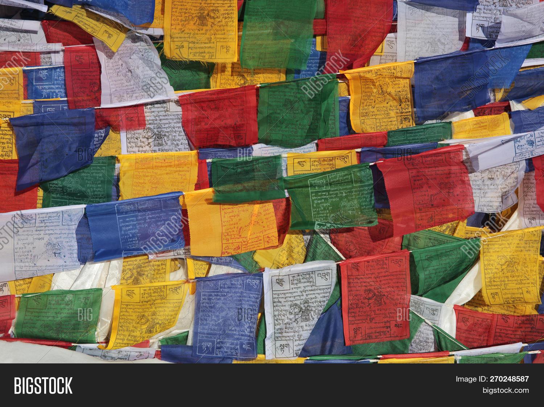 Buddhist Prayer Flags Image & Photo (Free Trial) | Bigstock