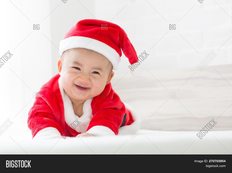 2992c6ab3122 Asian Baby Boy Santa Image   Photo (Free Trial)