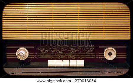 Retro Vintage Old Radio Nostalgia Object Photo poster