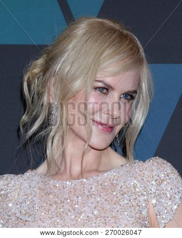LOS ANGELES - NOV 18:  Nicole Kidman at the 10th Annual Governors Awards at the Ray Dolby Ballroom on November 18, 2018 in Los Angeles, CA